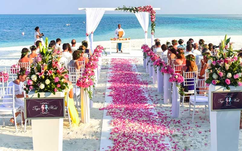 A beach wedding is something that you might want to consider